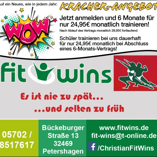 Fitwins Kracher- Angebot in Petershagen - Lahde